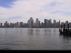 Hoboken, Exchange Place, and the Manhattan skyline