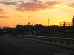 Hoboken Terminal sunset