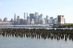 NYC skyline and HBLR