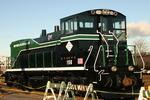 NY&A Santa Train and 156