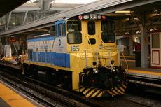 LIRR work diesels at Jamaica