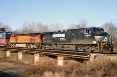 Late autumn, Lehigh Line