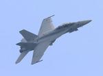 F/A-18 Super Hornet demo